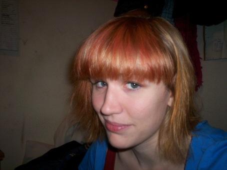 pink ish hair